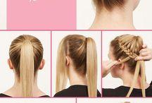 tranças e cabelos