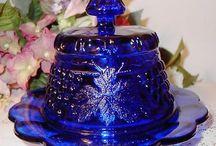 Cobalt Blue Glassware / by Sheila Noell