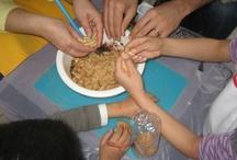 family activities / actividades para pais e filhos: pinturas, plasticinas, jardinagem, cozinha, cupcakes...