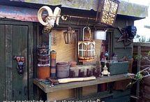 Garden & Potting Sheds / by Beth Gariepy Zumwalt