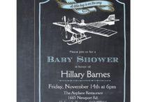 Retro Baby Shower Invitations and Ideas