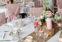 gold rose wedding