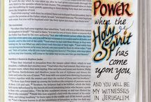 Acts--Bible Journaling by Book / Bible Journaling examples from the book of Acts