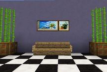 Minecraft home decor