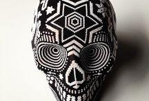 bead skull