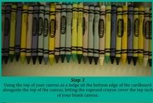 Arte con crayón fundido