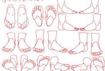 Anatomía - Piernas y pies