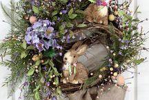 Jarní věnce