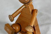 Boneco de madeira