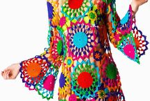 Crochet dress and more