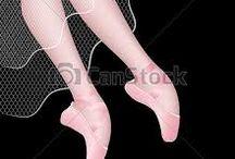 pernas de bailarinas