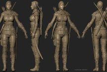 Characters sculpts