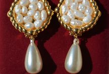 Vintage Jewelry / This board about vintage jewelry, clip-on earrings, cufflinks, rings, silver earrings, pearl clip-on earrings, jewelry with natural stones, bracelets.