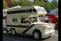 Trabant-caravan