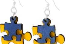Puzzle náušnice