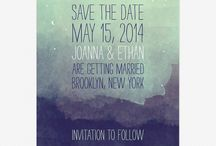 Invitations and Save the Date /  for the weird and wonderful