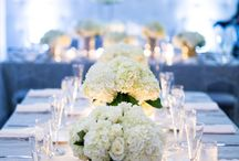 Gray Wedding / Gray wedding ceremony and reception ideas and details from real Clayton on the Park weddings. Modern Scottsdale wedding venue in the heart of Downtown Scottsdale. #wedding #color #gray #details #ideas #planning #decor #modern