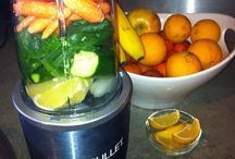 Juicing, Smoothies, and Nutribullet / Recipes for delicious blended beverages.  / by Chloe VanDuinen