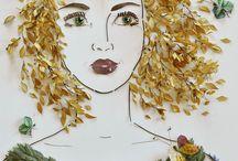Flower Face Print!