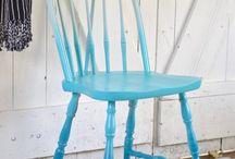 stoel verven