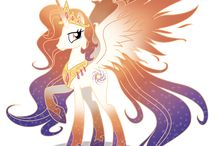 Princess Galaxia and Lord Cosmos