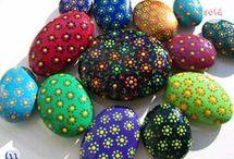 pedras decorativa