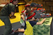 Laser Tag / All the more reason to visit Paradise Resort with Laser Tag available from 8am Wednesday, Saturday and Sunday (daily sessions in school holidays) Battle it out in Underwater World and the Egyptain Room in Zone 4 Kids Club.