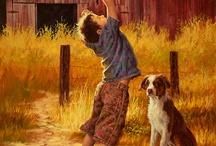 Kunst mit Kinder und Tieren