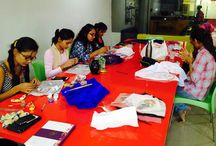 Pot decoration workshop / Pot decoration workshop by INIFD, Gandhinagar