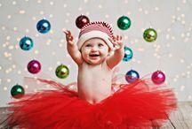 Navidad de niña bebé