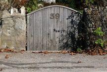 Garden Gates / A collection of garden gates