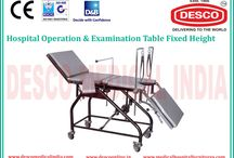 Operating Table Suppliers in India / We provide a wide range of fixed and adjustable operation tables in India at very low price as compare to the market.