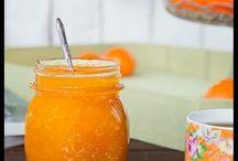 Mermelada naranja y piña