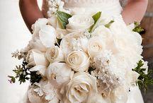 Brude blomster bukett
