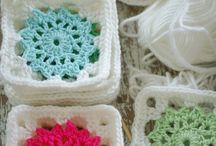 Crochet afghan square / by Kasey McDuffy