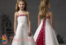 Wedding Flower Girl Dresses and Accessories