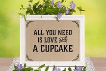 Rustic Cupcakes