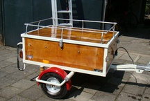 Tow behind utility trailers / Having a Volkswagen bus, trailers are a very popular accessory. Here are a few I have found that are pretty cool. Maybe I'll build one one day.