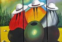 cuadros peruanos