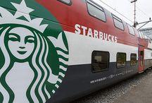 @Starbucks Train