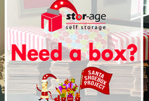 Santa Shoebox Project 2016 / Stor-Age are very proud to be apart of this great initiative. Drop your completed Santa Shoebox at any store nationwide. No shoebox? No problem. Pop into one of our stores for a complimentary shoebox.