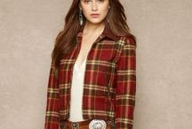 Ralph Lauren Plaid Styling / Add Warmth and Texture to an interior instantly by introducing subtle plaids.