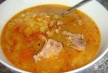 суп, борщ, рассольник, солянка - первые блюда