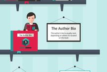 Infographic : Book, Reading, Writing, Library