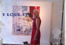 Lady art exhibition / Galleria Aila Seppala