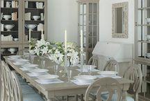 style Gustavien beige