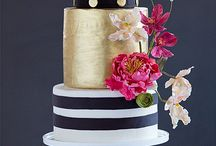 Stripes+Gold Perfection / Black n White stripes with Gold Glitter