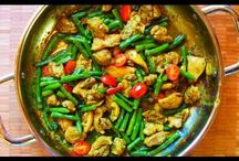 Indian and other exotic dishes.VIDEOS