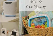 Nursery Decor / Helpful tips and tricks for decorating your baby's room.