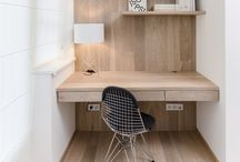 study nook / more and more we are seeing little study nooks being incorporated into residences
